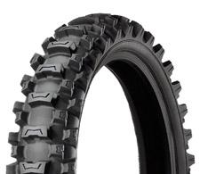 Motorcross Rear MS3 MX Soft / Interm Tires